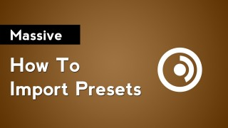 Massive: How to Import Presets