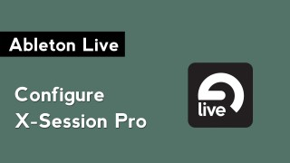 Configure the M-Audio X-Session Pro MIDI Controller with Ableton Live
