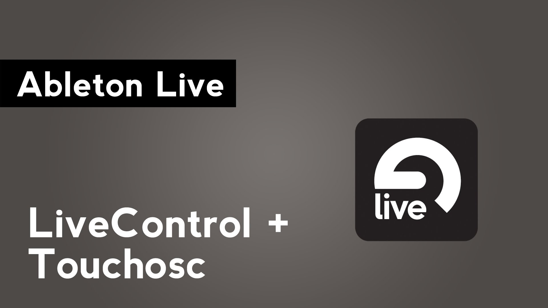 How to set up ableton live with your ios device and for Touchosc templates ableton
