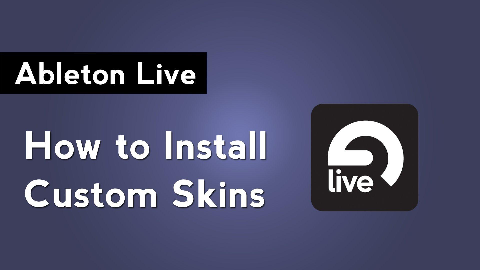 ableton live skins download