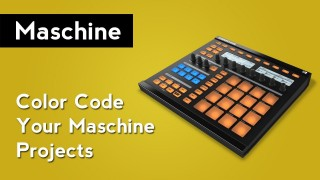 Maschine 1.8 Tutorial: How to Change Group, Scene & Sample Colors