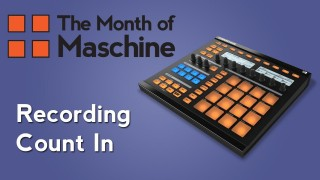 Maschine: Recording Count In