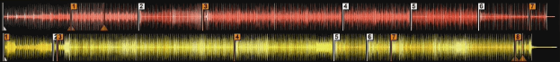 Cross DJ 3 Legacy Waveform Colors