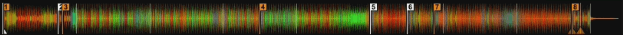 Cross DJ 3 Nexus Waveform Colors